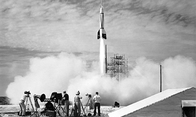 Old Rocket Launch