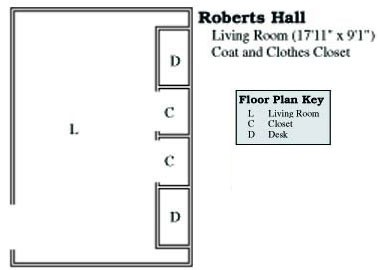 Roberts Suite Floor Plan
