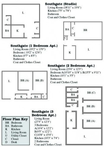 Southgate Floor Plan