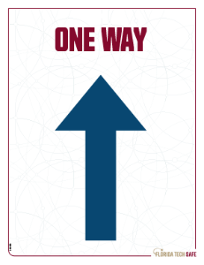 One Way - Forward Sign
