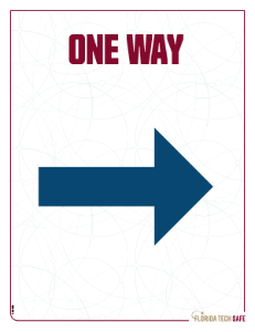 One Way - Right Sign
